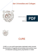 CURE REPORT RAGGING
