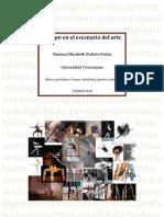 Cuerpo en el escenario del arte - Ponencia - Ximena Batista