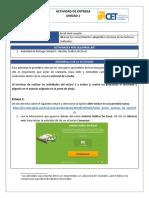 Actividad de Entrega Unidad 1 Interface Gráfica de Excel