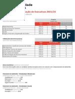 Pricing UniversidadeEuropeia Executive (1)