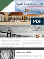 Visto D4 - Estudar em Portugal 2