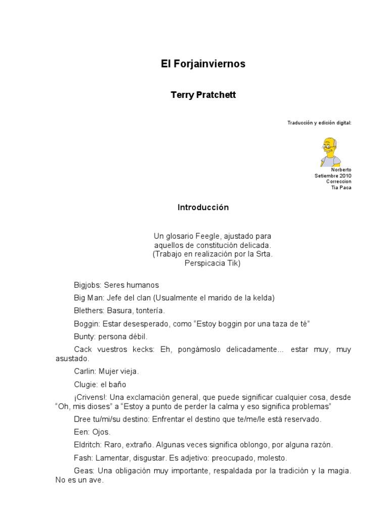 Pratchett Terry - MD35 -El Forjainviernos