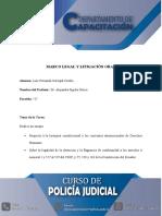 Jerarquía Constitucional y los convenios internacionales - legalidad de la detención y la flagrancia de conformidad