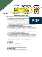 LINEAMIENTOS ESTUDIO DE CASO