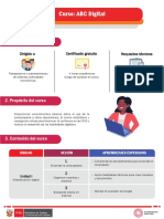 Ruta de aprendizaje - ABC Digital