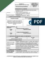 Hsm-c-11 Hoja Seguridad Potente 411 Limpiador Desinfectante Multiusos v06