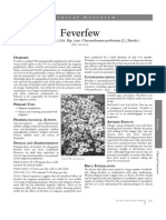 feverfew monograph