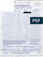 Mark Twitchell's second written statement to police