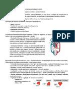 ResumoSistemaCardiovascularCaracterizaçãoCardíaca(Parte I)