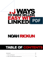 13 Ways to Make Selling Easy with LinkedIn