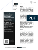 Características clínicas, diagnóstico y tratamiento por infección SARSCov-2