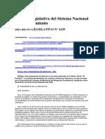 DL 1439 - Sistema Nacional de Abastecimiento