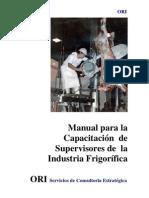 Insausti Osvaldo - Manual Capacitación Supervisores Ind.Frigorifica