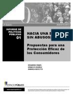 Propuesta para proteccion eficaz de los consumiodores Engel 2013