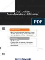 Tema 12 - Costos ABC