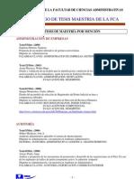Catalogo General de TESIS_actualizado Diciembre 2010