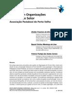 Organograma de estrutura de funcionamento