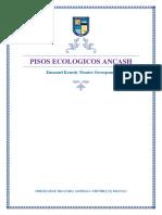 PISOS ECOLOGICOS ANCASH