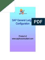 SAP GL configuration