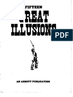 MAGIC FIFTEEN GREAT ILLUSIONS - AN ABBOTT PUBLICATION ARM