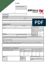 Schools Support Staff Application