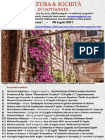 Cultura & Società in Capitanata N. 42 Del 09-07-2021