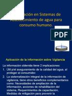 Información en Sistemas de Abastecimiento de agua para