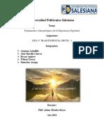 Fundamentos antropológicos de la espiritualidad (1) (1)