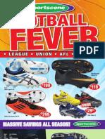 Sport Scene Footbal Fever