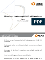 Clase N 9 Disfunciones MMSS-MMII-Columna