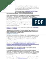 El FOSIS financia programas destinados a personas