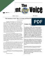StudentVoice March 2011 Volume 1 Issue 3