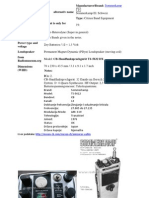 Radio Stanica Sommerkamp TS-5632 DX i TS-5612-_ Manual