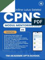 Modul Mentoring CPNS 2021 #3