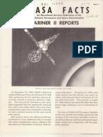 NASA Facts Mariner II Reports