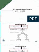 AULA 01- GERENCIAMENTO DE RISCO (NBR5419-2.2015)