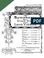 Imslp598441 Pmlp9828 Vierne 1ère Symphonie