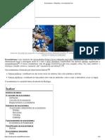 Ecossistema – Wikipédia, a enciclopédia livre