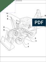 FIAT KOBELCO Spare Parts306649242 Catalogo FB200!2!4WS 9 00-3-03