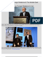 Council on Foreign Relations and the Middle East