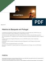 Basquetebol.