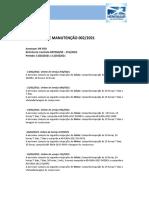 Relatorio Mensal de Manutencao PRFRO 002-2021 13-02 a 12-03