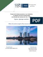Rapport- Filtre de Neutrons Auprès d'Un Réacteur Nucléaire