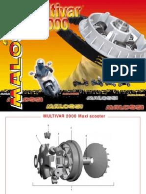 RULLI MALOSSI D 20 X 17 GR 8,0 YAMAHA CYGNUS X 125 4T  6611095.DO