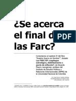 Ensayo, Se acerca el final de las FARC