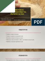 Fermento e Ingredientes Na Panificação