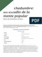Le Bon La muchedumbre_ un estudio de la mente popular - Wikipedia , la enciclopedia libre