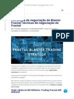 Como negociar os Fractals de Bill Williams - uma estratégia de troca do Fractal