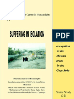 PCHR Series Study 32 Suffering in Isolation a Report on Life Under Occupation in the Mawasi Areas in the Gaza Strip 02 August 2003