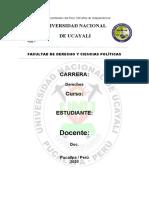 DERECHO DE SEGUROS